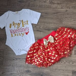 Custom made 1st Valentine's Day Outfit